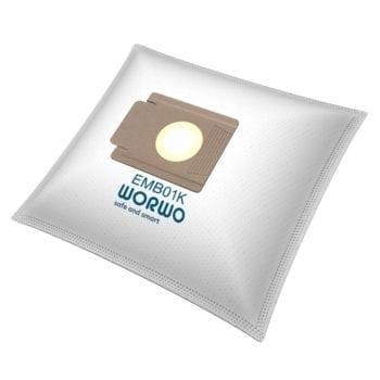 Worki do odkurzacza WHITE AND BROWN AT 1300 EMB01K KPL4