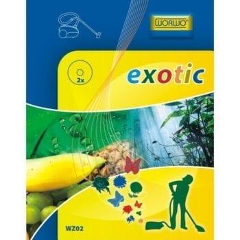 Zobacz większe Wkład o zapachu egzotycznym do odkurzacza WZ02
